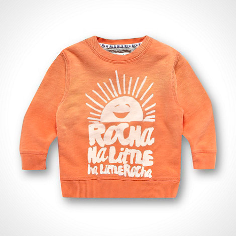 RJR.John Rocha - Designer Boy's orange sweater