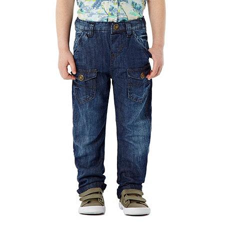RJR.John Rocha - Designer boy+s navy jeans