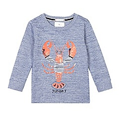 J by Jasper Conran - Boys' blue lobster applique top
