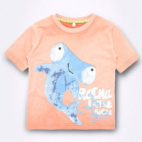 RJR.John Rocha - Designer boy+s orange hammerhead t-shirt