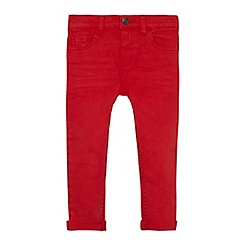 bluezoo - Boys' red super skinny denim trousers