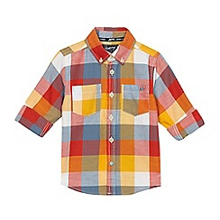 Mantaray - Boys' multi-coloured checked shirt