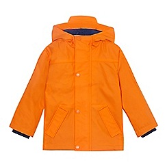 Mantaray - Boys' orange rubberized jacket