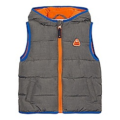 Mantaray - Boys' grey padded gilet