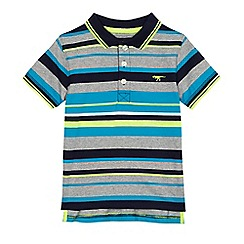 bluezoo - Boys' multi-coloured striped polo shirt