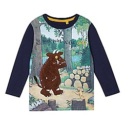 The Gruffalo - Boys blue 'Gruffalo' long sleeve t-shirt