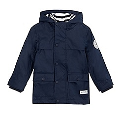 J by Jasper Conran - Girls' navy button-down fisherman coat