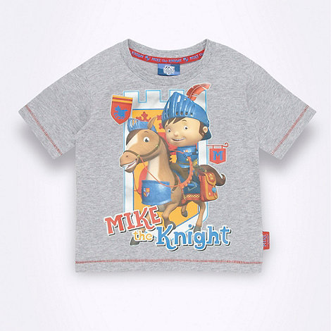 Mike the Knight - Baby+s grey +Mike The Knight+ t-shirt