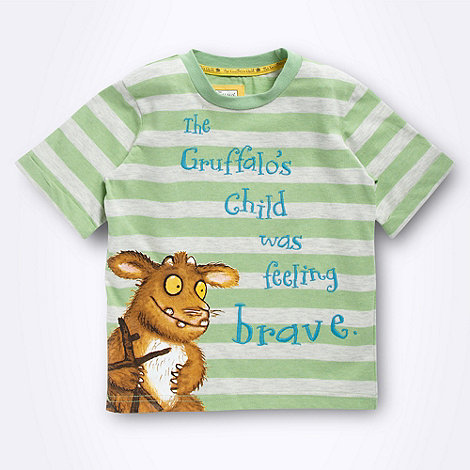 The Gruffalo - Boy+s green +Gruffalo+s Child+ t-shirt