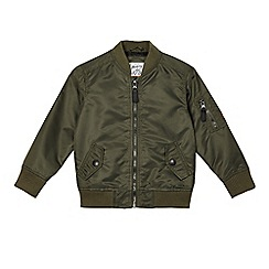 Mantaray - Boys' khaki bomber jacket