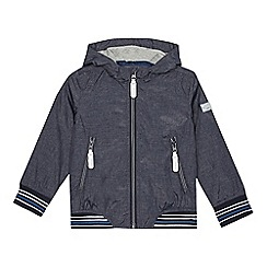 J by Jasper Conran - Boys' blue hooded jacket