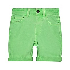 bluezoo - Boys' green denim shorts