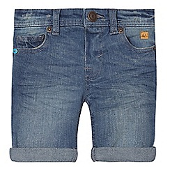 Mantaray - Boys' blue denim shorts