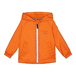 Mantaray - Boys' orange pack away jacket