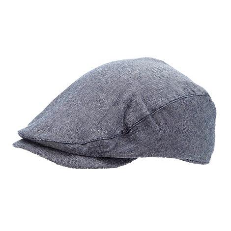 J by Jasper Conran - Designer boy+s blue chambray flat cap