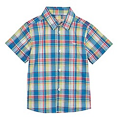 bluezoo - Boys' multi-coloured checked shirt