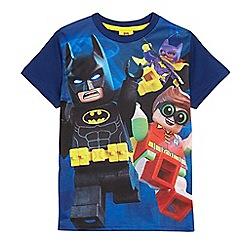 Batman - Boys' blue 'Lego Batman' print t-shirt