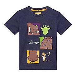 The Gruffalo - Boys' navy 'Gruffalo' t-shirt