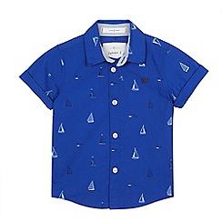 J by Jasper Conran - Boys' blue boat print shirt