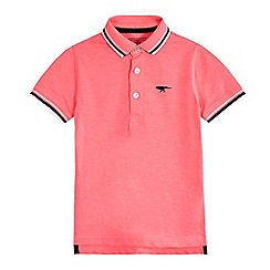 bluezoo - Boys' pink dinosaur polo shirt