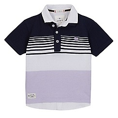 J by Jasper Conran - Boys' multi-coloured mock polo shirt