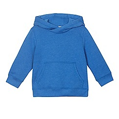 bluezoo - Boys' blue front pocket hoodie