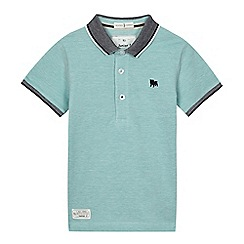 J by Jasper Conran - Boys' light green polo shirt