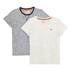 Mantaray - Pack of two boy's multi-coloured tops