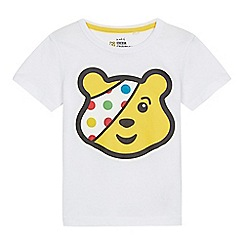 BBC Children In Need - White 'Children in Need' t-shirt