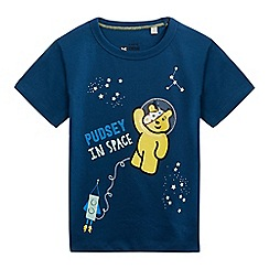 BBC Children In Need - Boys' navy 'Children in Need' print t-shirt