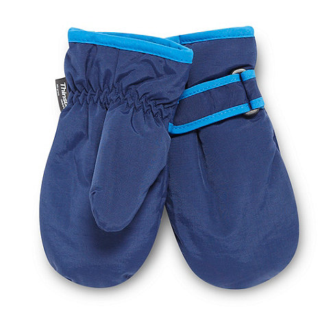 bluezoo - Boy+s Navy Thinsulate Mitt
