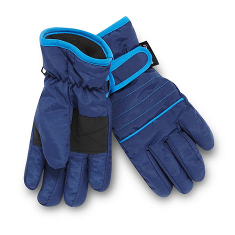 bluezoo - Boy+s Navy Thinsulate Glove
