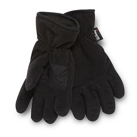 bluezoo - Boy+s Black Fleece Thinsulate Glove