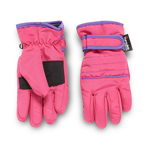 bluezoo - Girl's Pink Thermal Thinsulate Gloves