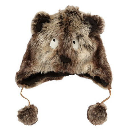 Donna & Markus by Markus Lupfer - Designer girl+s brown monster hat