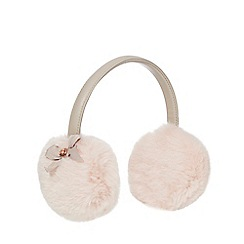 Baker by Ted Baker - Girls' pink faux fur earmuffs