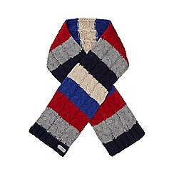 J by Jasper Conran - Boys' multi-coloured stripe scarf