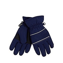 bluezoo - Boys' navy 'Thinsulate' gloves