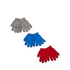 bluezoo - Pack of three children's gloves