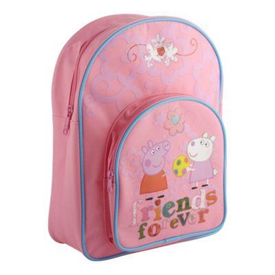 Pink Peppa Pig rucksack