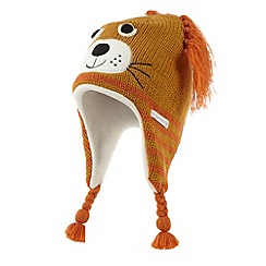 RJR.John Rocha - Designer boy's orange novelty lion trapper hat