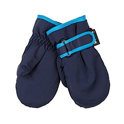 bluezoo - Boy's navy insulated mittens