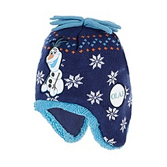 Disney Frozen - Boy's navy 'Frozen' trapper hat