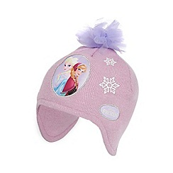 Disney Frozen - Girl's pink 'Frozen' trapper hat