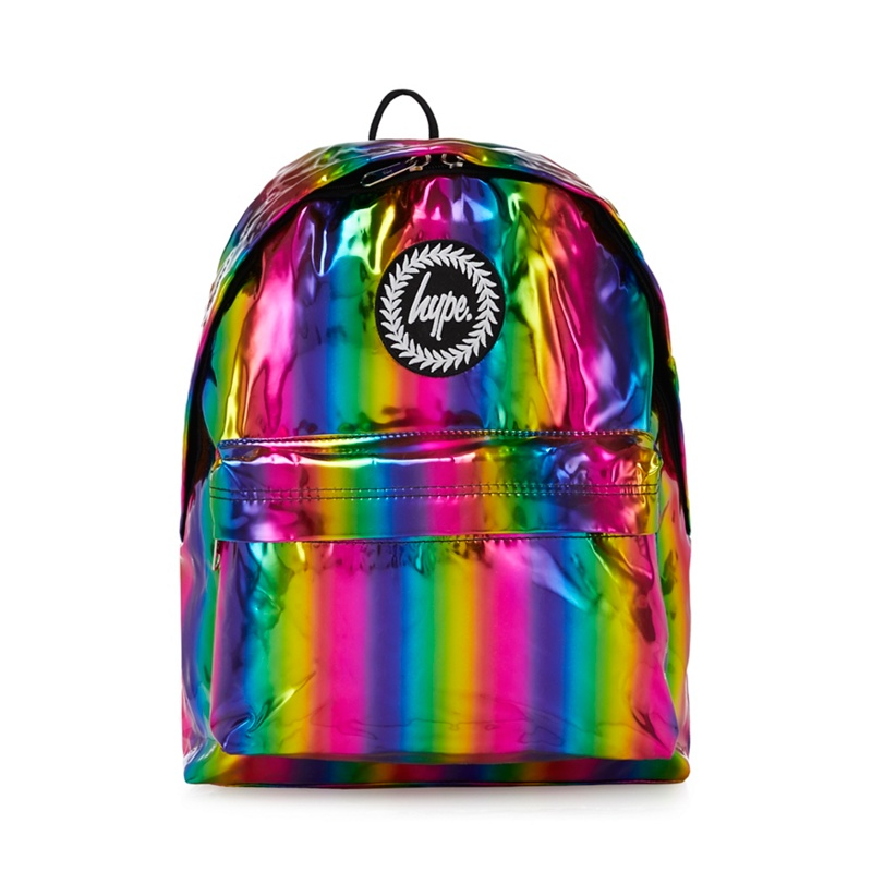 HYPE | Hype - Multicoloured Rainbow Backpack | Goxip