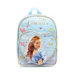 Disney Princess - Girl's light blue 'Cinderella' backpack