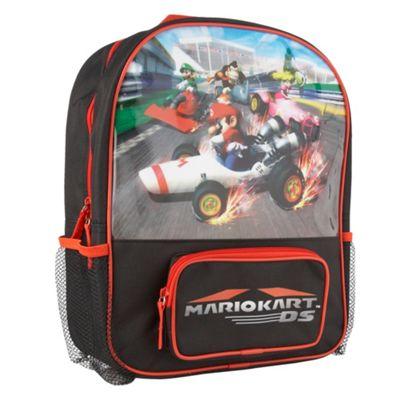 Red and black Mario rucksack