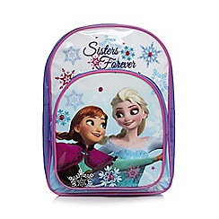 Disney Frozen - Girl's purple 'Frozen' backpack
