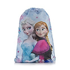 Disney Frozen - Girl's white 'Frozen' drawstring bag