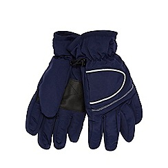 bluezoo - Boy's navy 'Thinsulate' gloves